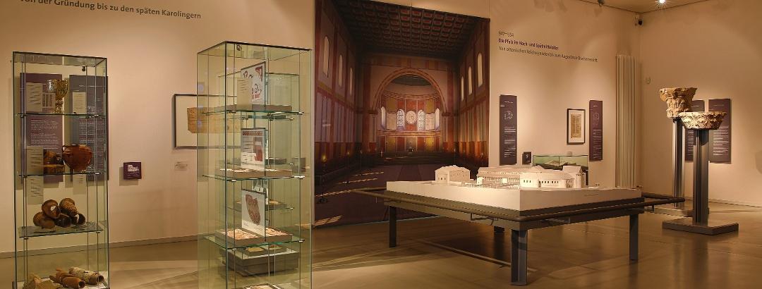 Innenraum Museum bei der Kaiserpfalz