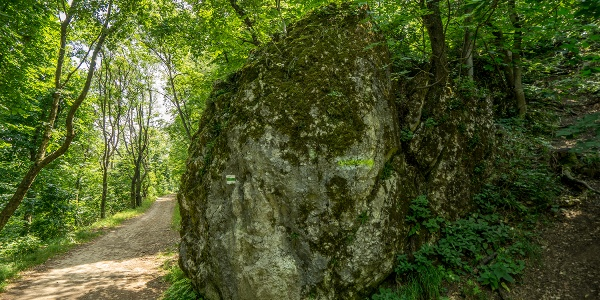 A Guckler-szikla tömbje