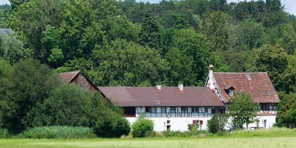 Wirtschaftsgebäude des Wasserschlosses Möggingen