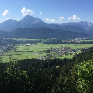 The view from Waengle