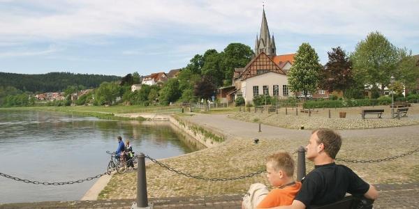 Weser-Promenade Bodenfelde