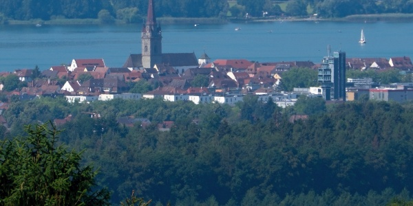 Blick vom Ober Öschle auf Radolfzell