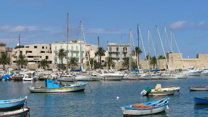 Der Hafen von Bari