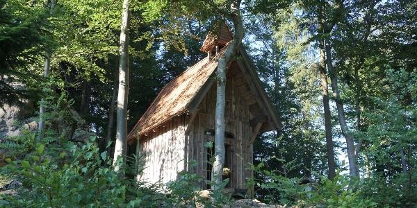 Kapelle Nähe Kleiner Riedelstein