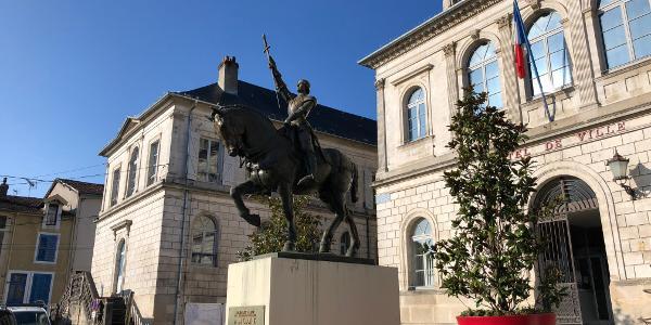 Monument de Jeanne d'Arc - Vaucouleurs