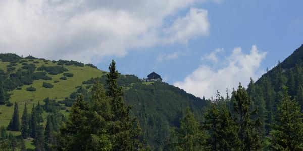 Ein erster Blick zum Solsteinhaus