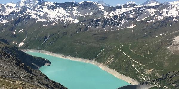 The Lac de Moiry