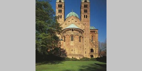 Dom Speyer Ostansicht