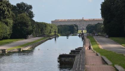 Der Palast von Caserta