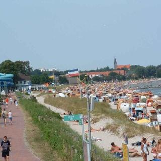 Strandpromenade bei Eckernförde