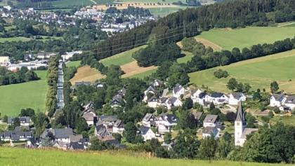 Aussicht auf Fleckenberg