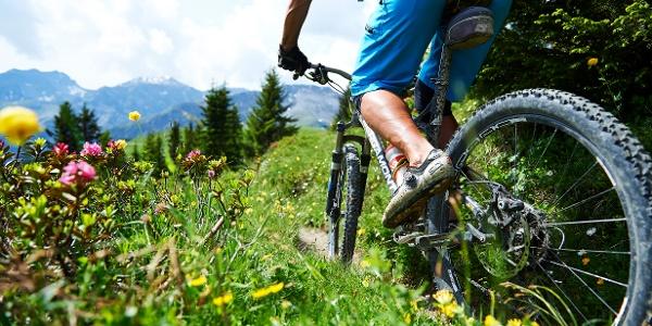 Biker nahe Schanfigg