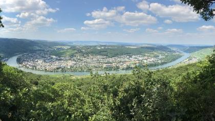 Panoramabild vom Aussichtspunkt  Maria Zill