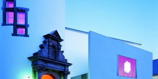 Museum für Gegenwartskunst Siegen-bei Abend