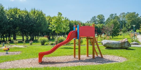 Rutsche im Schlosspark Pöllau