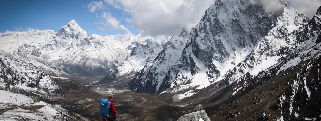 Lobuche East (6.119 m) und Island Peak (6.189 m)