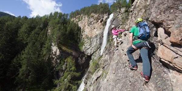 Klettersteig Lehner Wasserfall