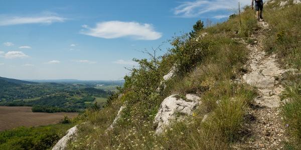 Just below the peak of Hegyes-kő
