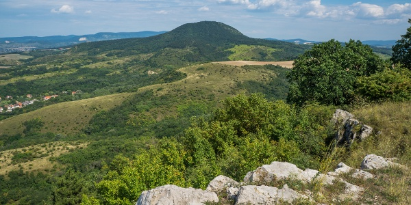 Zurückblick auf Nagy-Gete von Hegyes-kő
