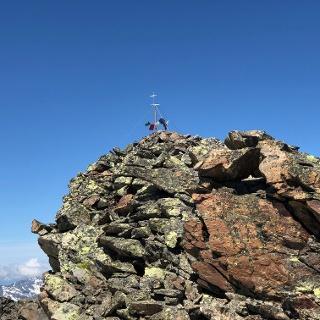 Gipfelaufbau Gleirscher Fernerkogel