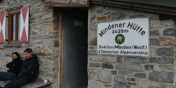Am Weg zur Goldberggruppe: Die Selbstversorgerhütte Mindener aus Westfahlen auf Höhe Mallnitz