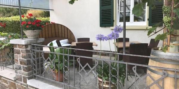 Haus am Walde- Terrasse