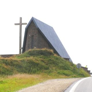 Kapelle auf  Pass Ibañeta