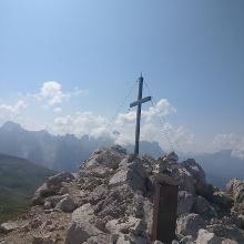 Gipfelkreuz am Petz/Schlern