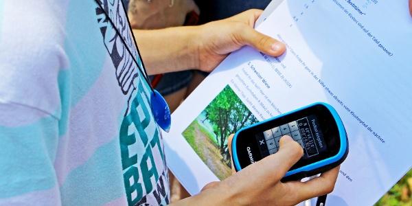 Klosterpfad für Kids mit GPS-Gerät