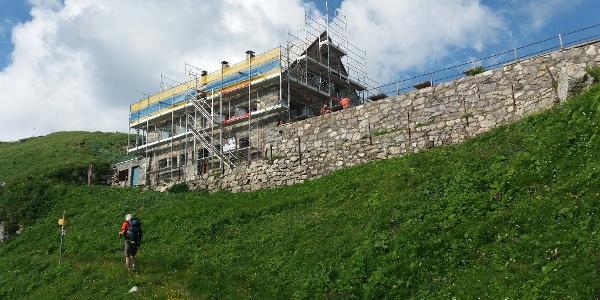Die Pfälzerhütte erhält eine Photovoltaikanlage.