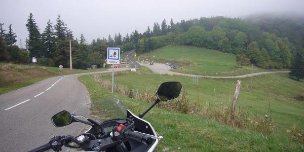 Routes des Crêtes - Blick zum Col Amic