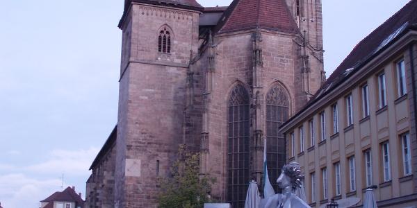 Jakobusweg Ansbach Ulm Oberdischingen Zwischen Stadten