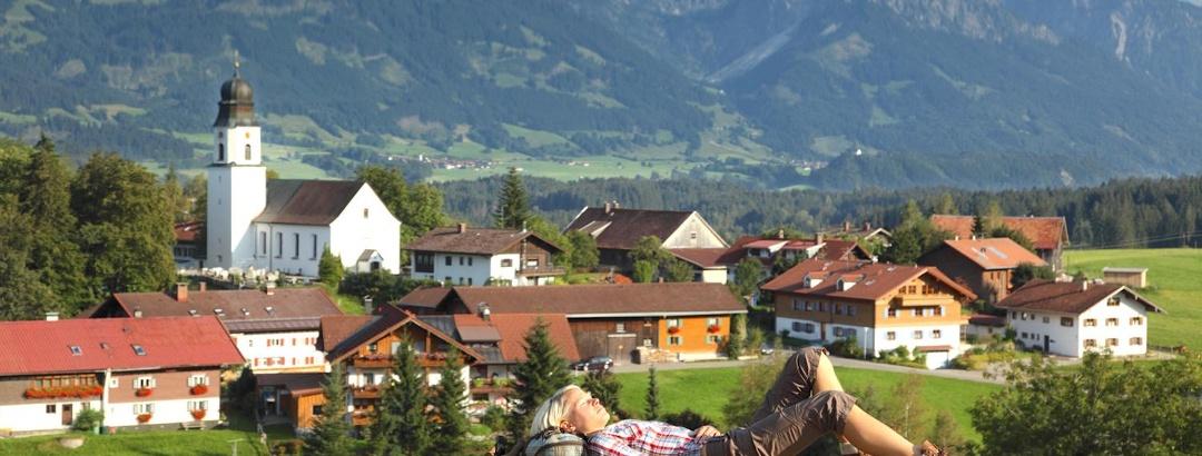 Ofterschwang im Allgäu bei Sonthofen