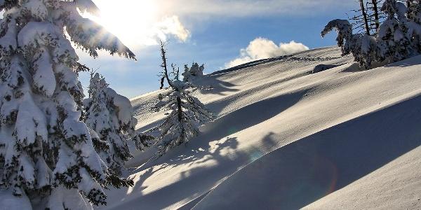 Inverno in Valle di Ledro