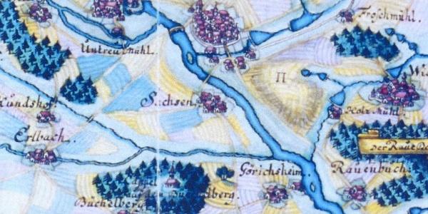 Büchelbergkapelle 1740