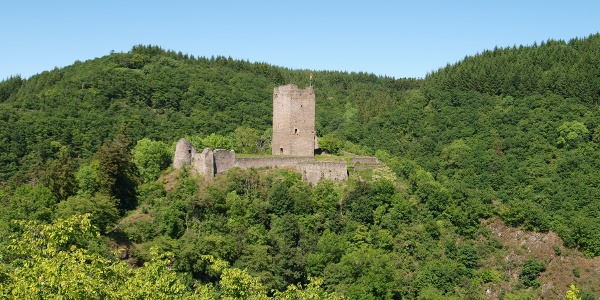 Oberburg Manderscheid_Vulkan-Pfad: Grafschaft-Pfad