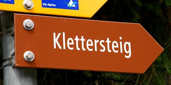 Klettersteig Mürren.