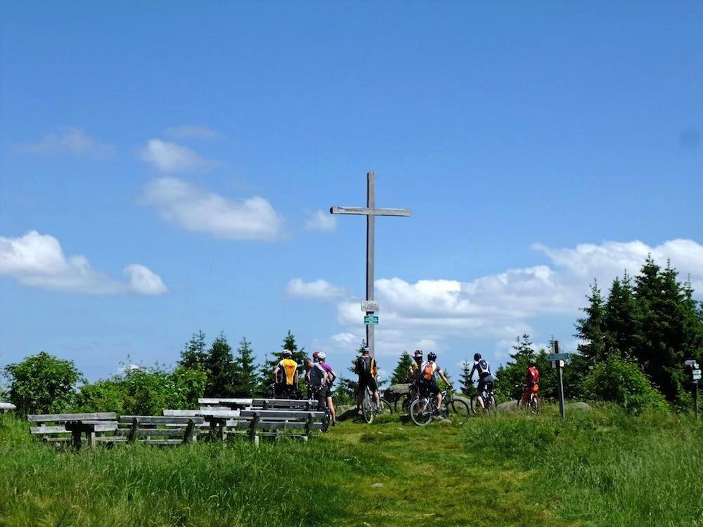 Distelberg Und Kollnburg Von St Englmar Mountainbike Outdooractive Com