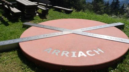 Denkmal geographischer Mittelpunkt Kärnten
