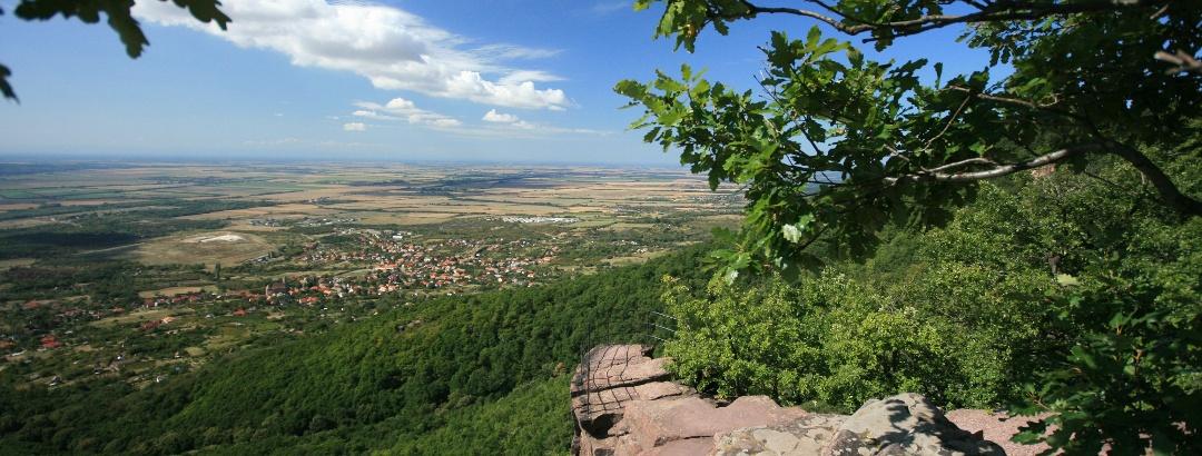 A Zsongor-kő sziklakilátója