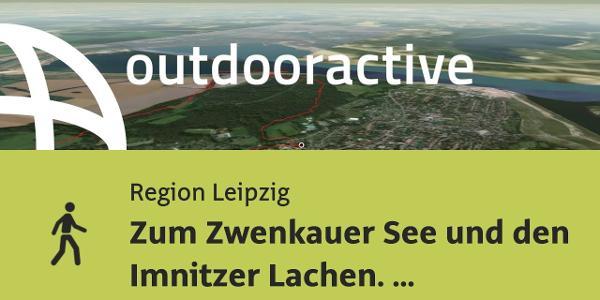 Wanderung in der Region Leipzig: Zum Zwenkauer See und den Imnitzer Lachen. Eine Hundewanderung