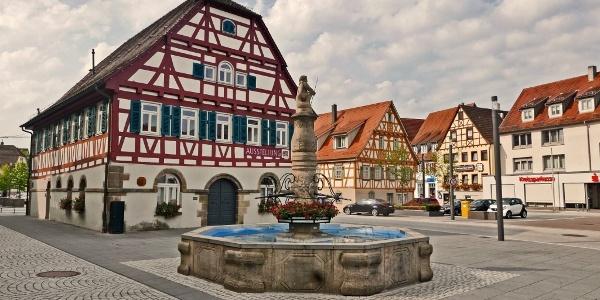 Marktplatz Winterbach