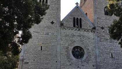 R73 Hecklingen Benediktinerinnenklosterkirche St. Georg und Pancratius