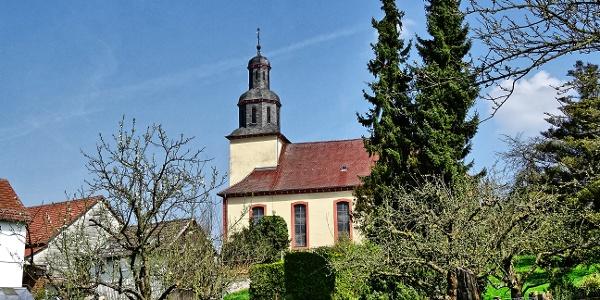 Oberweimar, Kirche