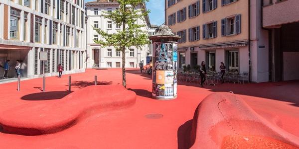 Kunst-Projekt «Stadtlounge»