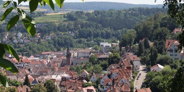 Blick vom Meistersberg nach Calw