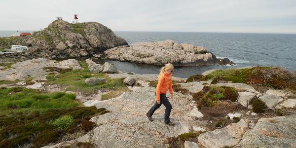 Beginn der Wanderung auf dem Küstensteig