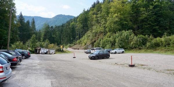 Parkplatz bei Blindau