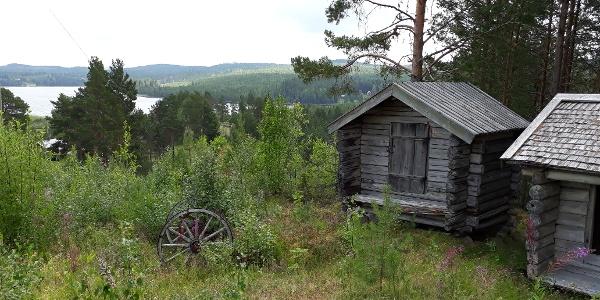 View from the folk museum of Haverö (Hembygdsgården)