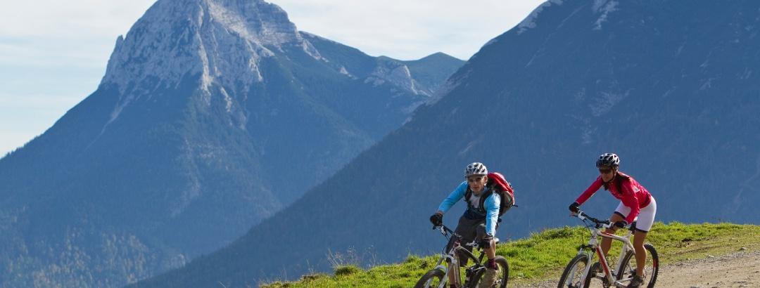 Mountainbike-Tour zur Falkenmoosalm Achenkirch